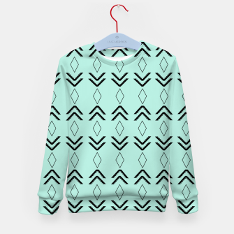 Thumbnail image of Tribal Pattern Aztec #3 #minimal #decor #art  Kindersweatshirt, Live Heroes