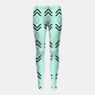 Thumbnail image of Tribal Pattern Aztec #3 #minimal #decor #art  Kinder-Leggins, Live Heroes