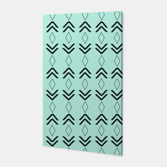 Thumbnail image of Tribal Pattern Aztec #3 #minimal #decor #art  Canvas, Live Heroes