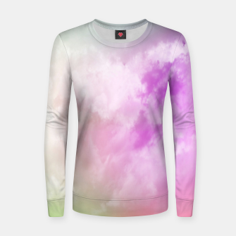 Miniatur Raibow clouds Women sweater, Live Heroes