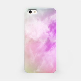 Miniatur Raibow clouds iPhone Case, Live Heroes