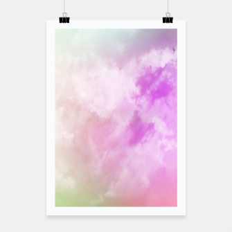 Miniatur Raibow clouds Poster, Live Heroes