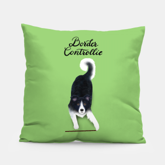 Thumbnail image of Border Controllie (Green) Pillow, Live Heroes