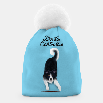 Thumbnail image of Border Controllie (Blue) Beanie, Live Heroes