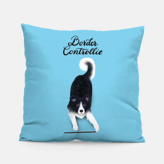 Thumbnail image of Border Controllie (Blue) Pillow, Live Heroes