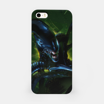 Miniatur Alien iPhone Case, Live Heroes
