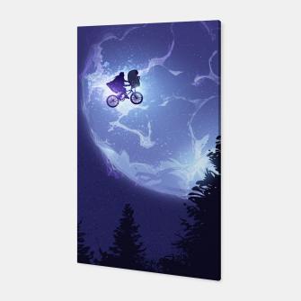 Thumbnail image of E.T. the Extra-Terrestrial Canvas, Live Heroes
