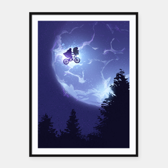 Thumbnail image of E.T. the Extra-Terrestrial Framed poster, Live Heroes