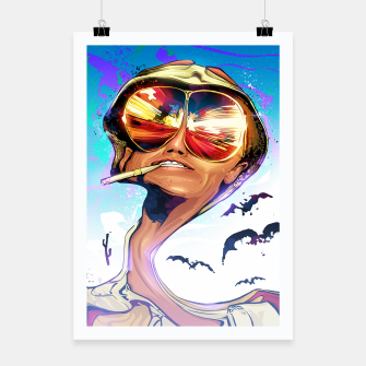 Thumbnail image of Fear and Loathing Poster, Live Heroes