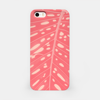 Thumbnail image of Monstera Finesse #2 #tropical #decor #art  iPhone-Hülle, Live Heroes