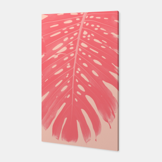 Thumbnail image of Monstera Finesse #2 #tropical #decor #art  Canvas, Live Heroes
