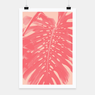 Thumbnail image of Monstera Finesse #2 #tropical #decor #art  Plakat, Live Heroes