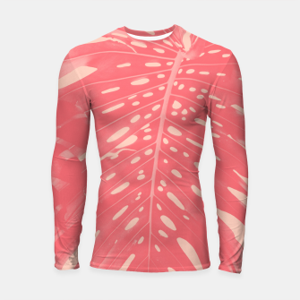 Thumbnail image of Monstera Finesse #2 #tropical #decor #art  Longsleeve rashguard, Live Heroes