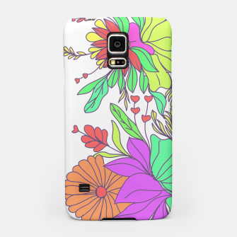 Thumbnail image of Floral tropical illustration Samsung Case, Live Heroes