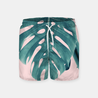 Thumbnail image of Monstera Delight #3 #tropical #decor #art Badeshorts, Live Heroes