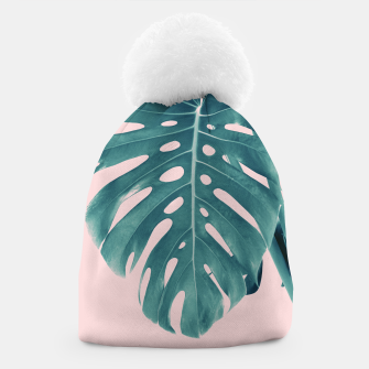 Thumbnail image of Monstera Delight #3 #tropical #decor #art Mütze, Live Heroes