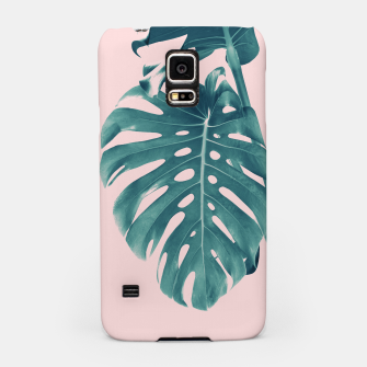 Thumbnail image of Monstera Delight #3 #tropical #decor #art Handyhülle für Samsung, Live Heroes