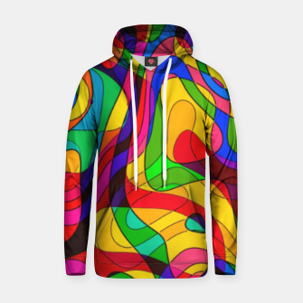 Thumbnail image of Layered Abstraction Hoodie, Live Heroes