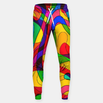 Thumbnail image of Layered Abstraction Sweatpants, Live Heroes