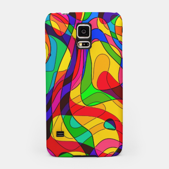 Thumbnail image of Layered Abstraction Samsung Case, Live Heroes