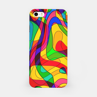Thumbnail image of Layered Abstraction iPhone Case, Live Heroes