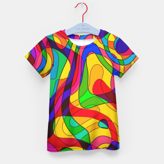 Thumbnail image of Layered Abstraction Kid's t-shirt, Live Heroes