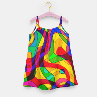 Thumbnail image of Layered Abstraction Girl's dress, Live Heroes
