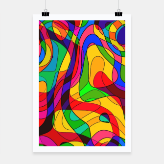 Thumbnail image of Layered Abstraction Poster, Live Heroes