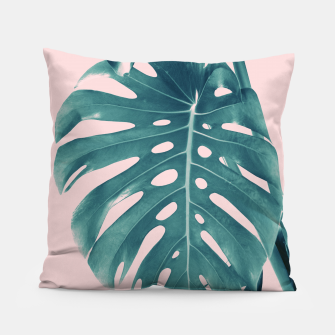 Thumbnail image of Monstera Delight #3 #tropical #decor #art Kissen, Live Heroes