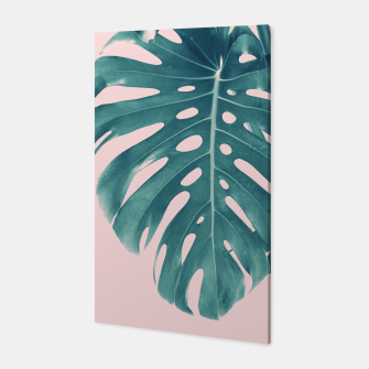Thumbnail image of Monstera Delight #3 #tropical #decor #art Canvas, Live Heroes