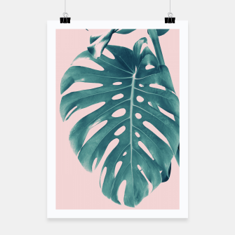 Thumbnail image of Monstera Delight #3 #tropical #decor #art Plakat, Live Heroes