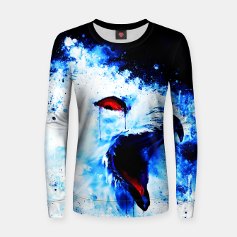 Thumbnail image of snow owl wsc80 Women sweater, Live Heroes