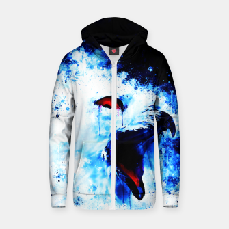 Thumbnail image of snow owl wsc80 Zip up hoodie, Live Heroes