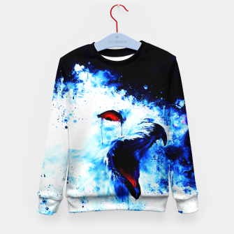 Thumbnail image of snow owl wsc80 Kid's sweater, Live Heroes
