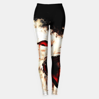 Thumbnail image of snow owl wsstd Leggings, Live Heroes