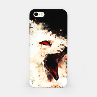 Thumbnail image of snow owl wsstd iPhone Case, Live Heroes