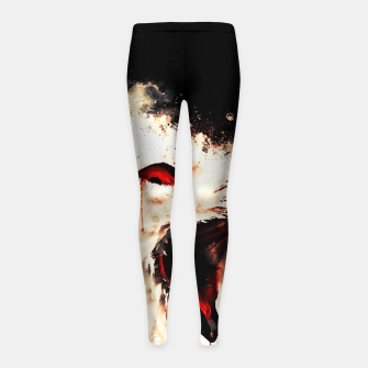 Thumbnail image of snow owl wsstd Girl's leggings, Live Heroes