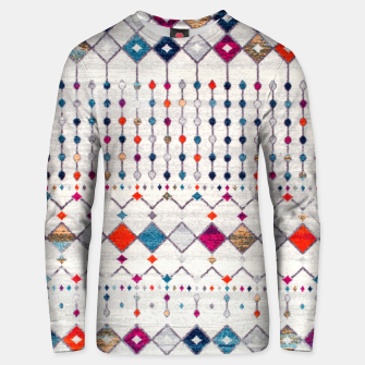 Thumbnail image of Modern Traditional Moroccan Artwork. Unisex sweater, Live Heroes