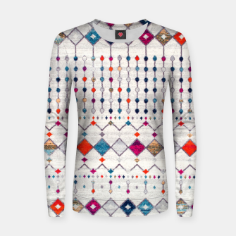 Thumbnail image of Modern Traditional Moroccan Artwork. Women sweater, Live Heroes