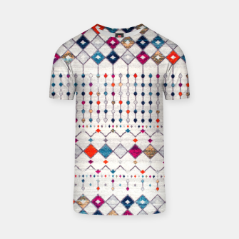 Miniatur Modern Traditional Moroccan Artwork. T-shirt, Live Heroes
