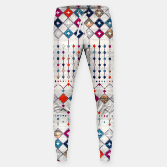 Miniatur Modern Traditional Moroccan Artwork. Sweatpants, Live Heroes