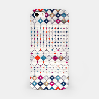 Miniatur Modern Traditional Moroccan Artwork. iPhone Case, Live Heroes