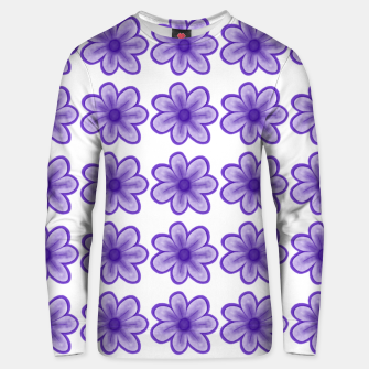 Thumbnail image of mauve flowers Unisex sweater, Live Heroes