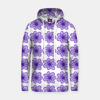 Thumbnail image of mauve flowers Hoodie, Live Heroes