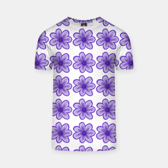 Thumbnail image of mauve flowers T-shirt, Live Heroes