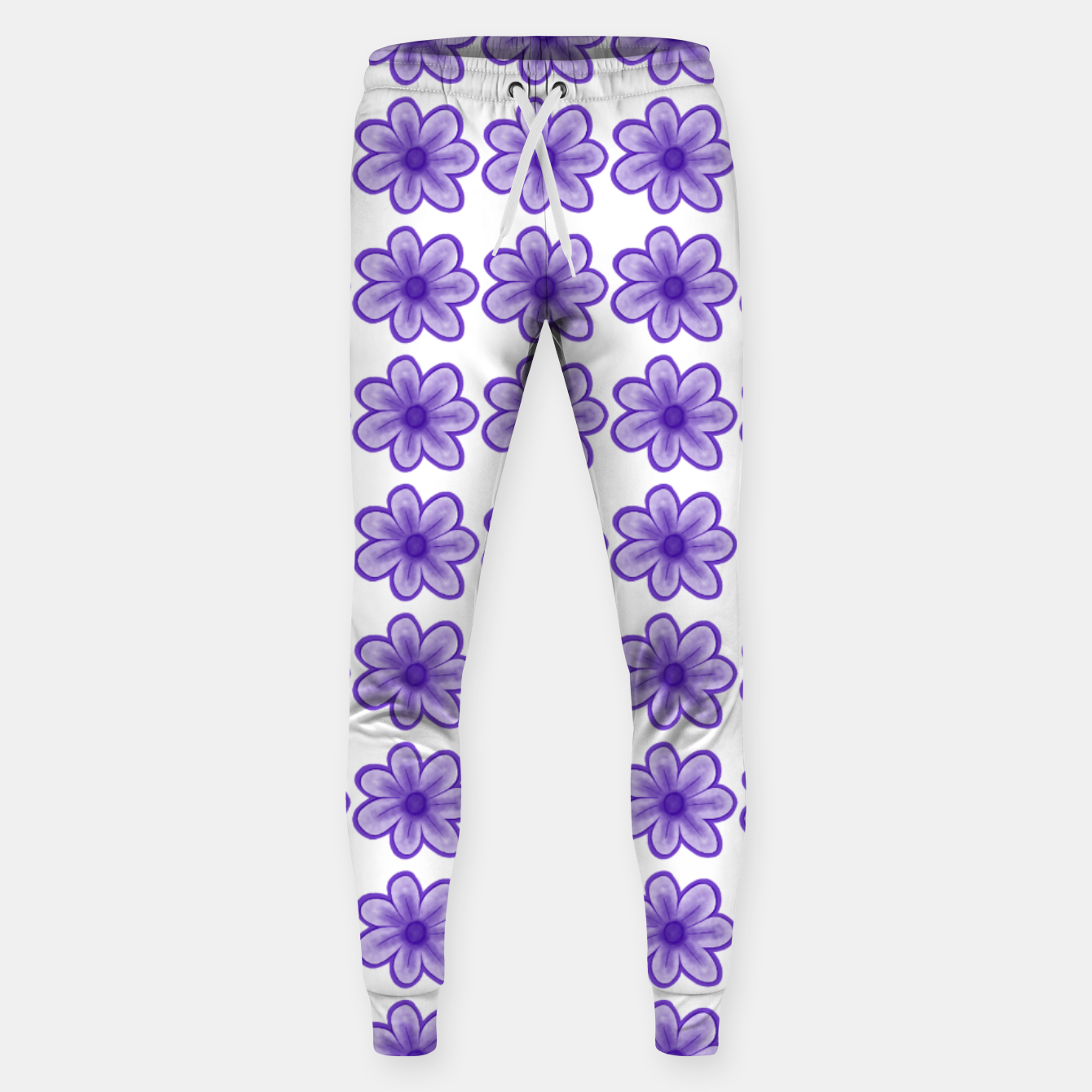 Image of mauve flowers Sweatpants - Live Heroes