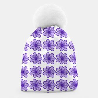 Thumbnail image of mauve flowers Beanie, Live Heroes