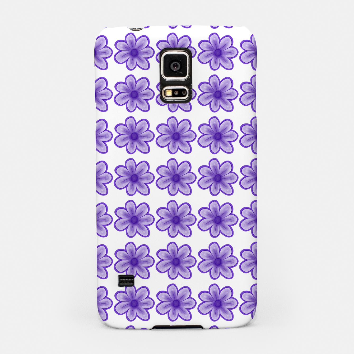 Image of mauve flowers Samsung Case - Live Heroes