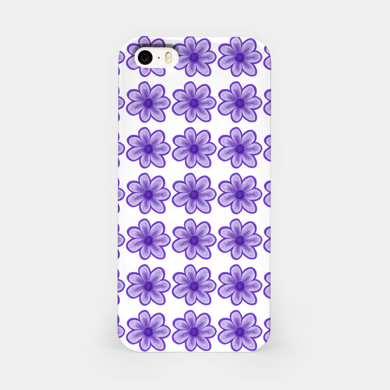 Image of mauve flowers iPhone Case - Live Heroes