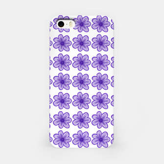 mauve flowers iPhone Case thumbnail image